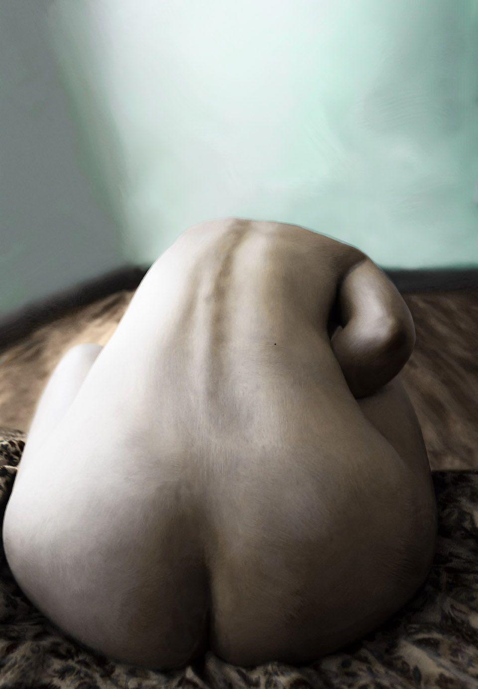 desnudo espalda tratamiento textura imagen la fotografia es mi pasión