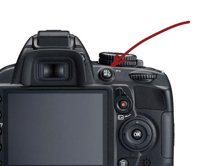 botón de bloqueo de enfoque en camara reflex la fotografia es mi pasion