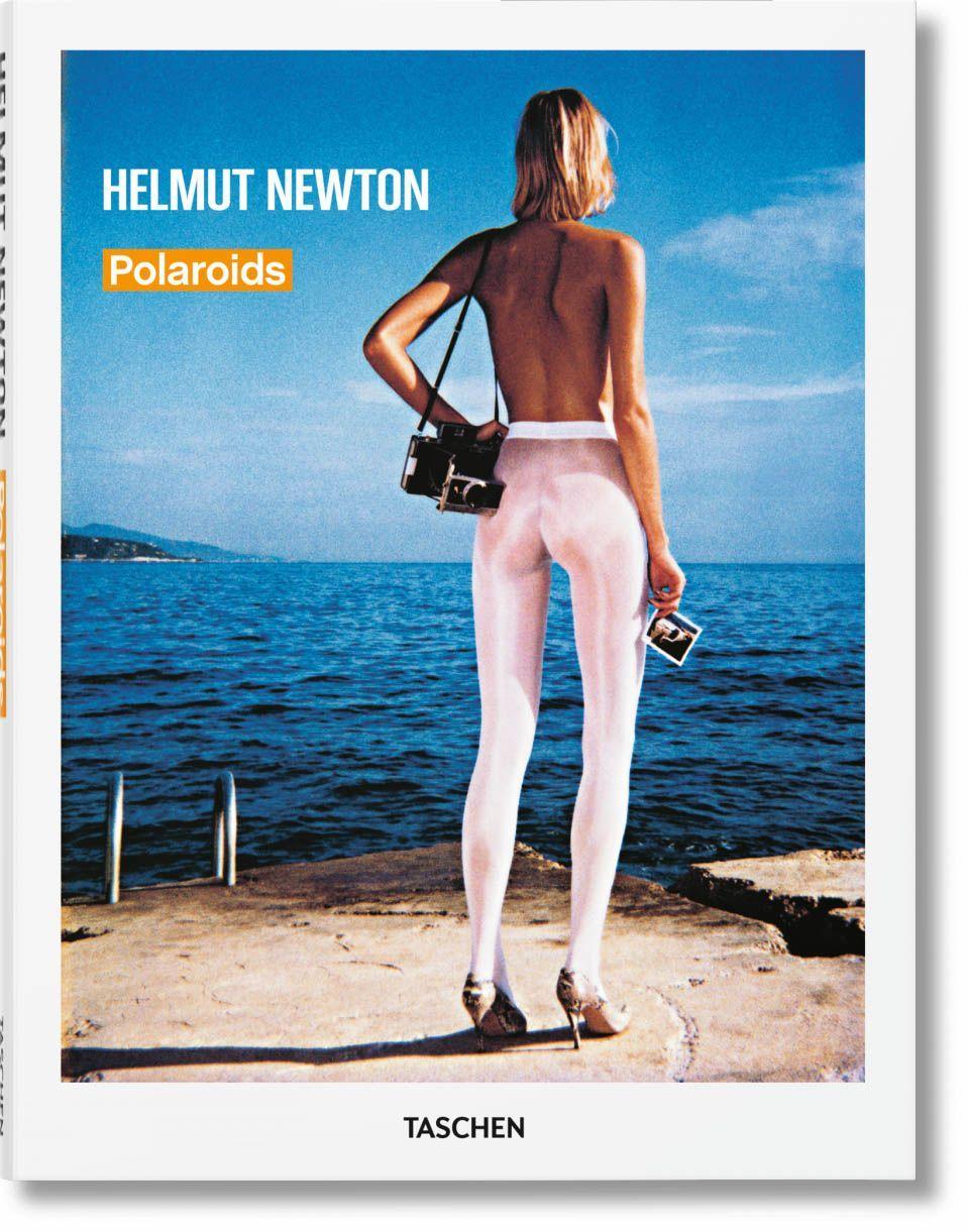 portada libro Helmut Newton polaroids la fotografia es mi pasion