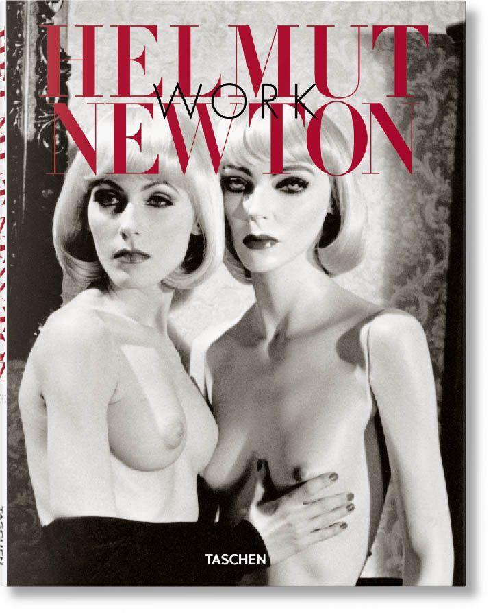 portada libro Helmut Newton work la fotografia es mi pasion