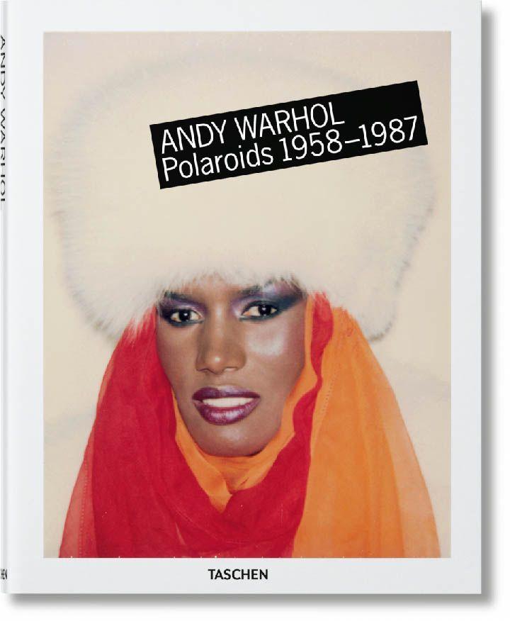 portada libro Warhol polaroids la fotografia es mi pasion