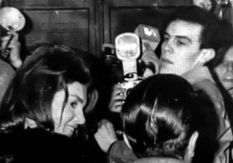 barillari jacqueline kennedy en via veneto 1964 la fotografia es mi pasion