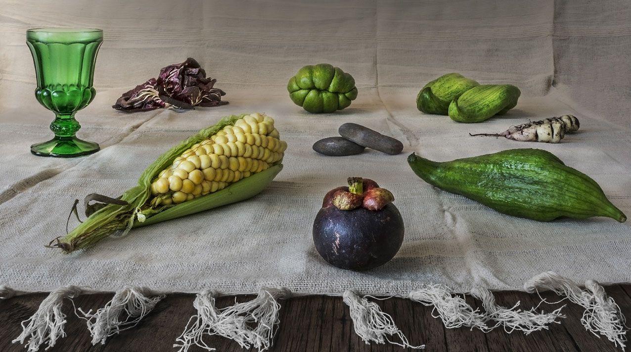 un bodegon en casa la fotografia es mi pasion hortalizas tropicales