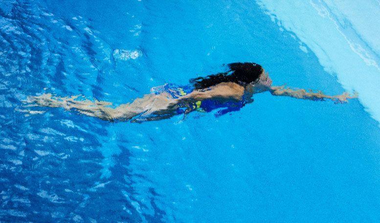 plano general nadadora la fotografia es mi pasion