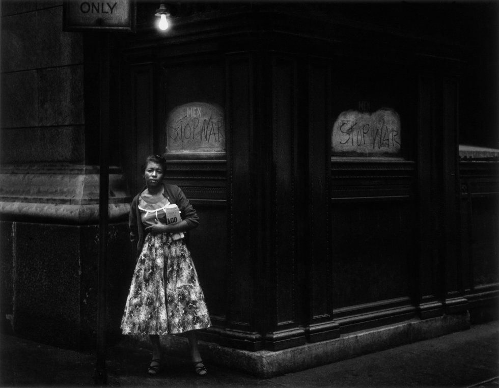 dave heath negra la fotografia es mi pasion