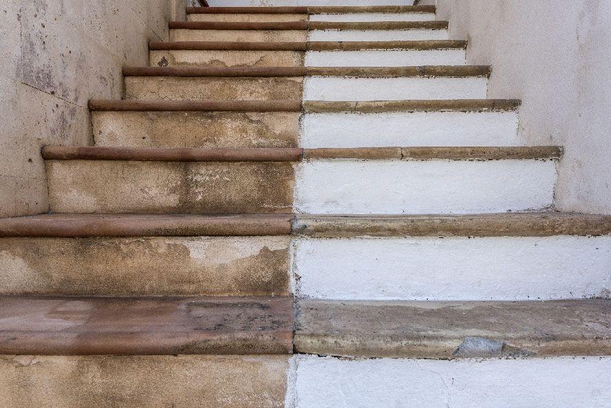 fotografo enlatado escaleras la fotografia es mi pasion