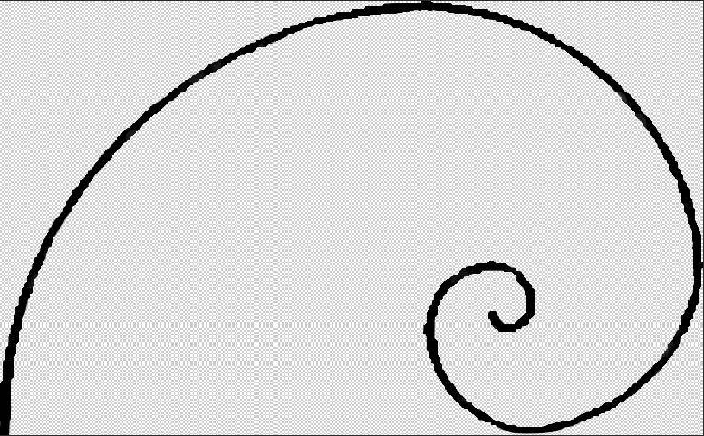 esquema reducido de la plantilla de proporcion aurea copia