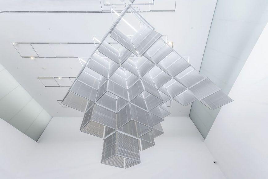 escultura Haegue Yang Sol LeWitt persianas Upside Down Structure tate