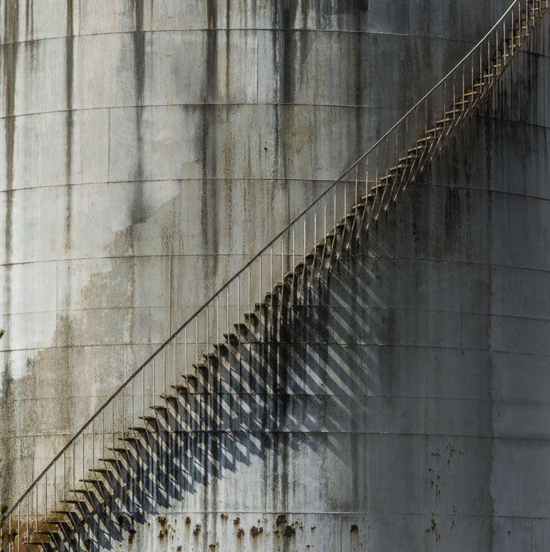 escalera metal xisco fuster fotografo construirte como fotógrafo