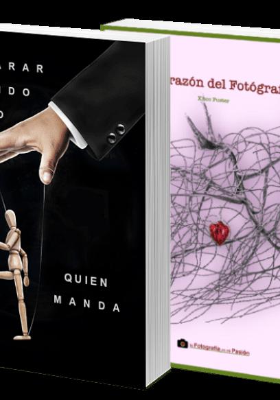 4 libros la fotografía es mi pasión